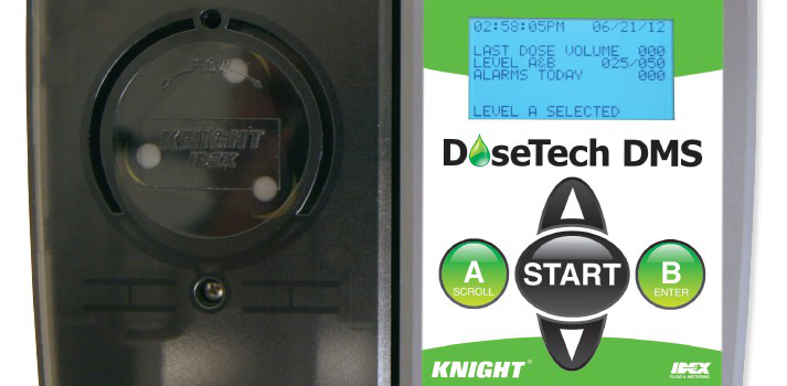 WINSTECH intelligent cleaning detergent injection system